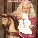 """CHRISSIE'S CROCHET COLLECTION FOR 22"""" DOLL CRAFT BOOKLET MINT"""