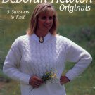 DEBORAH NEWTON ORIGINALS BY LEISURE ARTS KNIT CRAFT BOOKLET 1993 NEAR MINT