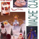 MACHE CLAY - SHAPE IT UP BABY - NO BAKING CRAFT BOOKLET 1991 NEAR MINT