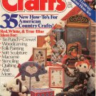 CRAFTS BACK ISSUE MAGAZINE JULY 1982 WITH 16 PAGES FULL SIZE PATTERNS GOOD CONDITION