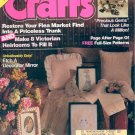 CRAFTS BACK ISSUE MAGAZINE APRIL 1989 W/FULL SIZE PATTERNS PULL OUTS NEAR MINT