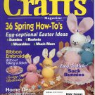 CRAFTS MAGAZINE BACK ISSUE ~ APRIL 1997 WITH FULL SIZE PATTERNS PULL OUTS NEAR MINT