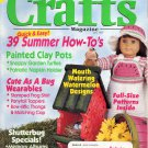 CRAFTS MAGAZINE BACK ISSUE  ~ JULY 1997 WITH FULL SIZE PATTERNS PULL OUTS NEAR MINT