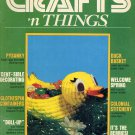 CRAFTS N THINGS BACK ISSUE MAGAZINE MARCH - APRIL 1982 VERY GOOD CONDITION
