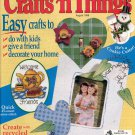 CRAFTS N THINGS BACK ISSUE MAGAZINE AUGUST 1998 NOS NEAR MINT