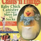 CRAFTS N THINGS BACK ISSUE MAGAZINE APRIL 1999 NOS NEAR MINT