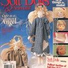 SOFT DOLLS & ANIMALS BACK ISSUE SEWING CRAFTS MAGAZINE WINTER 1997 NOS NEAR MINT