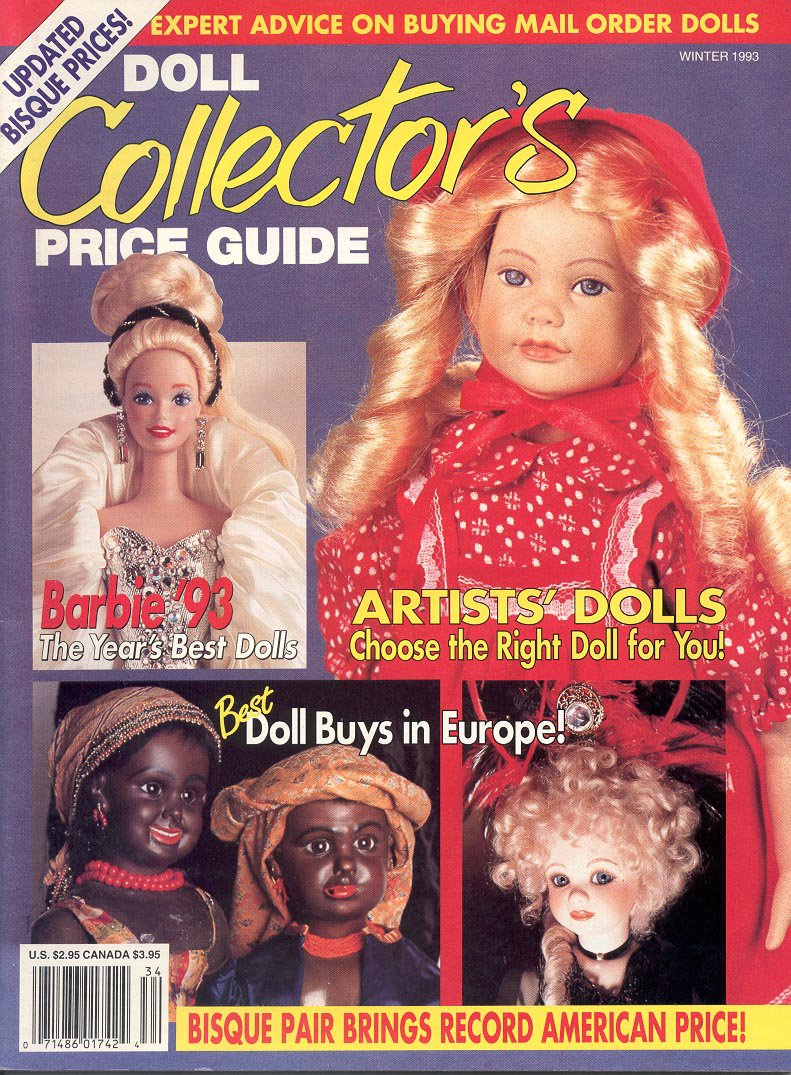 Doll Collector S Price Guide Back Issue Magazine Winter