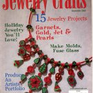 JEWELRY CRAFTS MAGAZINE DECEMBER 2000 DISCONTINUED NEW OLD STOCK MINT