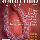 JEWELRY CRAFTS MAGAZINE AUGUST 2003 DISCONTINUED NEW OLD STOCK NEAR MINT
