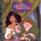 DISNEYS THE HUNCHBACK OF NOTRE DAME LITTLE GOLDEN BOOK 1996 CHILDREN'S HARDBACK # 2 NEAR MINT