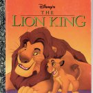 WALT DISNEYS THE LION KING LITTLE GOLDEN BOOK 1996 CHILDREN'S HARDBACK VERY GOOD