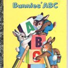 A LITTLE GOLDEN BOOK - BUNNIES' ABC CHILDRENS HB BOOK 1985 VERY GOOD COND