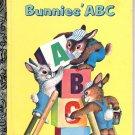 A LITTLE GOLDEN BOOK - BUNNIES' ABC CHILDRENS HB BOOK 1985 VERY GOOD COND