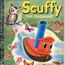 A LITTLE GOLDEN BOOK - SCUFFY THE TUGBOAT # 1 HB 1983 GOOD COND