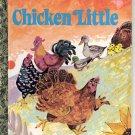 A LITTLE GOLDEN BOOK - CHICK-FIL-A - CHICKEN LITTLE # 2 HB 1973 NM