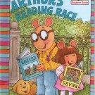 ARTHUR'S READING RACE CHILDREN'S HARDBACK BOOK 1996 MINT