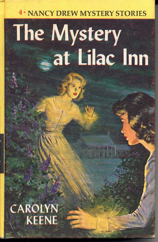 Nancy Drew Mystery  4 The Mystery At Lilac Inn 1961 1st Ed