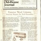 THE OLD-HOUSE JOURNAL ANTIQUE HOUSE RESTORATION & MAINTENTANCE MAGAZINE OCT 1982 NMINT
