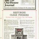 THE OLD-HOUSE JOURNAL ANTIQUE HOUSE RESTORATION & MAINTENTANCE MAGAZINE NOV 1982 NMINT