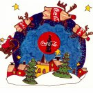 COKE COCA COLA #4 IN SERIES OF 5 - CHRISTMAS COLOR POSTCARD #06 UNUSED 1998 NEAR MINT