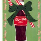 COKE COCA COLA #3 IN SERIES OF 5 - CHRISTMAS COLOR POSTCARD #03 UNUSED 1998 NEAR MINT