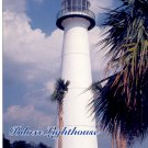 BILOXI LIGHTHOUSE IN PASCAGOULA MISSISSIPPI COLOR PICTURE POSTCARD #11 UNUSED MINT
