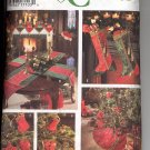 SIMPLICITY CRAFTS  #9748 - DONNA LANG DESIGNS - CHRISTMAS HOLIDAY USED CUT 1995 NEAR MINT