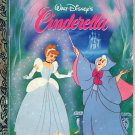 A LITTLE GOLDEN BOOK- WALT DISNEY'S CINDERELLA CHILDRENS HARDBACK BOOK 1986 VERY GOOD