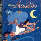 A LITTLE GOLDEN BOOK- #107-88 DISNEY'S ALADDIN #1 CHILDRENS HARDBACK BOOK 1992 VERY GOOD TO NM