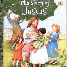 A LITTLE GOLDEN BOOK - THE STORY OF JESUS 1ST EDITION CHILDREN'S HB BOOK 2004 NMINT TO MINT
