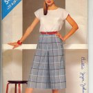 BUTTERICK #5478 SEE & SEW PATTERN - WOMEN'S TOP & CULOTTES SIZE A 8-12 UNCUT OUT OF PRINT 1986 NM