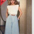 BUTTERICK #5178 SEE & SEW PATTERN - WOMEN'S TOP & CULOTTES SIZE B 12-16 UNCUT OUT OF PRINT NM