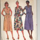 BUTTERICK QUICK! #6376 PATTERN - WOMEN'S MISSES VEST & DRESS SIZE 14 CUT/USED OUT OF PRINT VG