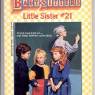 BABY-SITTERS LITTLE SISTER #21 KAREN'S NEW TEACHER BY ANN M. MARTIN CHILDRENS PB BK 1991 VG
