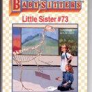 BABY-SITTERS LITTLE SISTER #73 KAREN'S DINOSAUR BY ANN M. MARTIN CHILDRENS PB BOOK 1996 NM