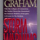 STORM WARNING BY BILLY GRAHAM 1995 CONTEMPORARY RELIGIOUS PAPERBACK BOOK NM