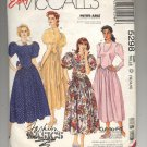 McCALL'S EASY PATTERN #5298 MISSES DRESS SIZE D 12-16 CUT OOP 1991 NM