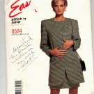 McCALL'S EASY PATTERN # 8594 MISSES DRESS & UNLINED JACKET SIZE B 14-18 UNCUT 1997 OOP