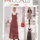 McCALL'S EASY PATTERN # 9512 MISSES JUMPER TWO LENGTHS SIZE C 10-14 UNCUT 1998 OOP