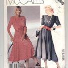 McCALL'S PATTERN # 3265 MISSES LIZ CLAIBORNE PULLOVER DRESS SIZE 10 UNCUT 1987 OOP
