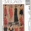 McCALL'S PATTERN # 2781 MISSES WRAP DRESS IN TWO LENGTHS SIZE XSM 4-6 UNCUT 2000 OOP A
