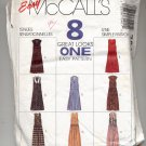McCALL'S EASY PATTERN # 7240 MISSES JUMPERS & JUMPSUITS SIZE C 10-14  CUT 1994 OOP