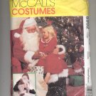 McCALL'S PATTERN # 8992 MENS SANTA CLAUSE & BAG CHRISTMAS COSTUME SIZE LARGE 42-44 CUT 1997 OOP