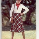 BUTTERICK SEE & SEW PATTERN # 6164 MISSES SKIRT SIZE 26 1/2 CUT OOP
