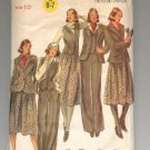 BUTTERICK PATTERN # 5613 MISSES VEST JACKET SKIRT & PANTS SIZE 10 CUT OOP