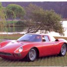 PRINT #19: 1965 RED FERRARI LM250 BY RON KIMBALL 8 X 10 NEAR MINT