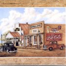 1997 PRINT #10: COCA COLA COKE GENERAL STORE 8 X 10  MINT