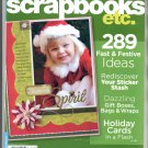 BETTER HOMES & GARDENS SCRAPBOOKS ETC BACK ISSUE MAGAZINE NOVEMBER DECEMBER 2007 NEAR MINT