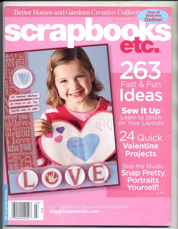 Better Homes Gardens Scrapbooks Etc Back Issue Magazine